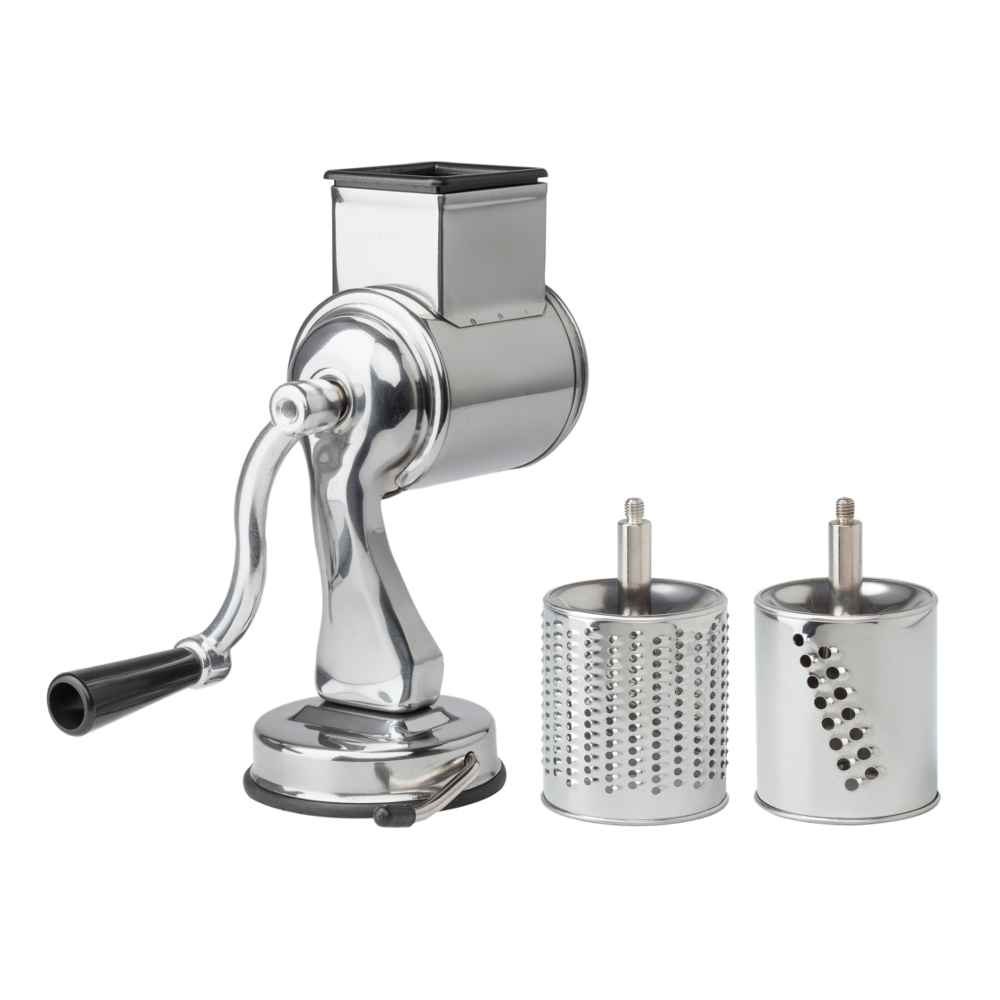 Fante's Cousin Nico's Drum Cheese Grater with Suction Base