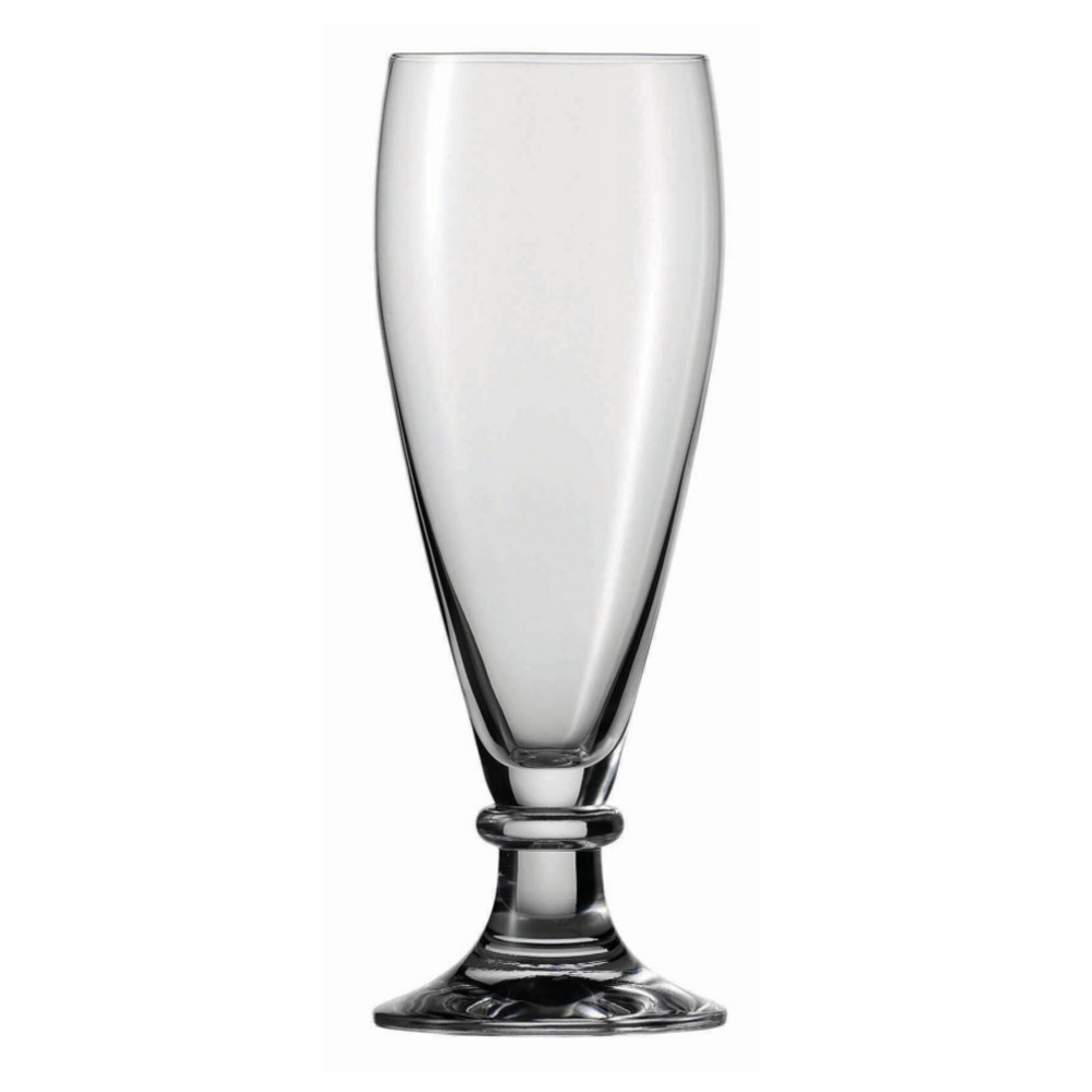 Fortessa Schott Zwiesel Brussels Tritan 13.5 Ounce Pilsner Beer Glass, Set of 6