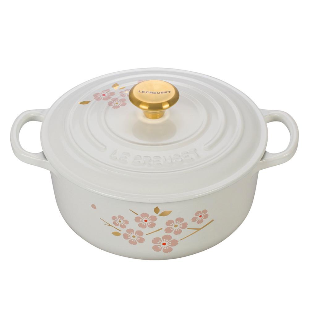 Le Creuset Sakura Cherry Blossom Collection 2.75 Quart Round Dutch Oven