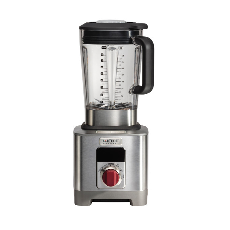 Wolf Gourmet High Performance 64 Ounce Blender with Red Knob