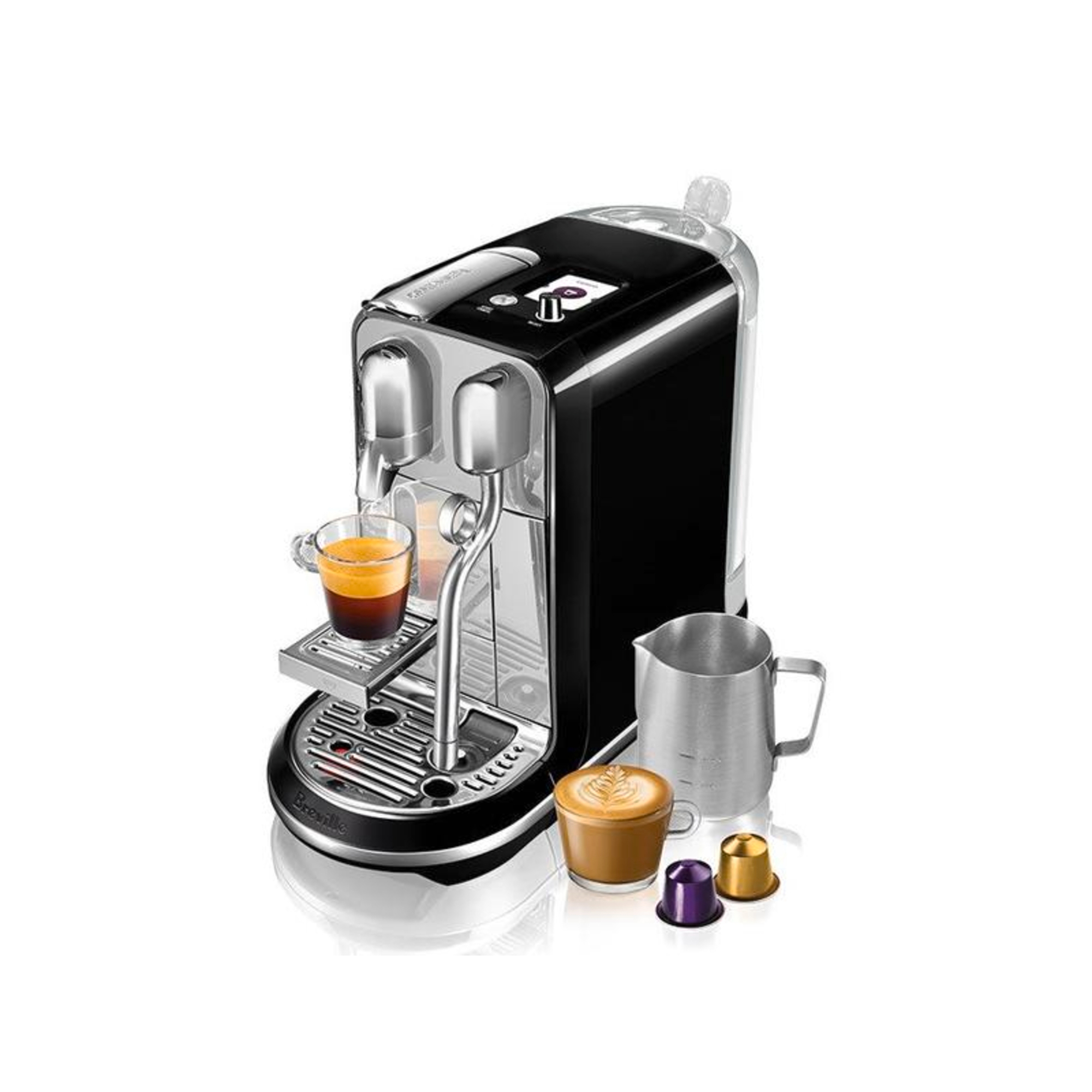 Breville Nespresso Creatista Salted Liquorice Espresso Machine
