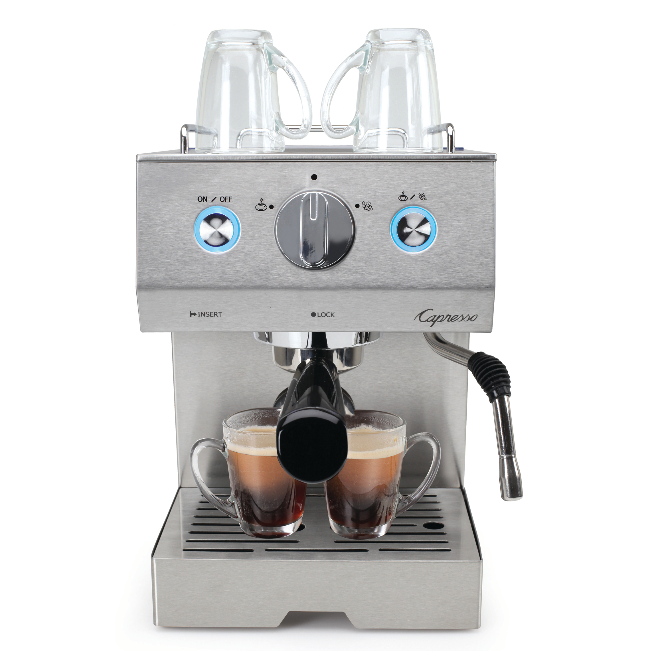 Capresso Cafe Pro 42 Ounce Professional Espresso and Cappuccino Machine