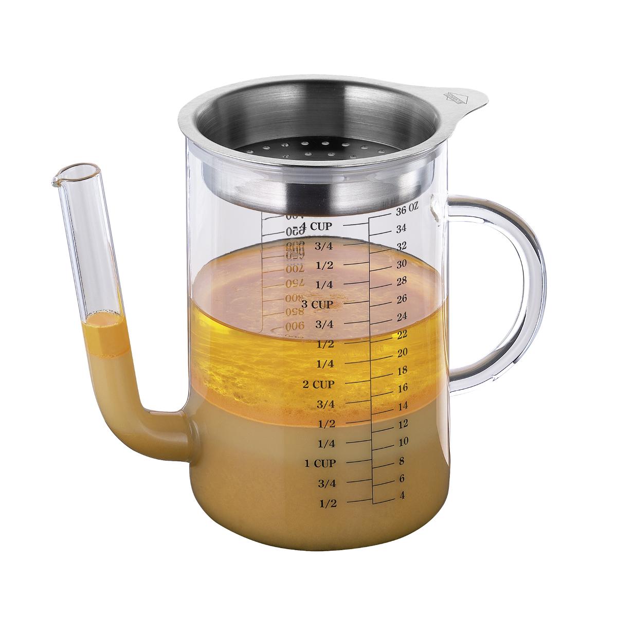Kuchenprofi Glass 34 Ounce Gravy Separator