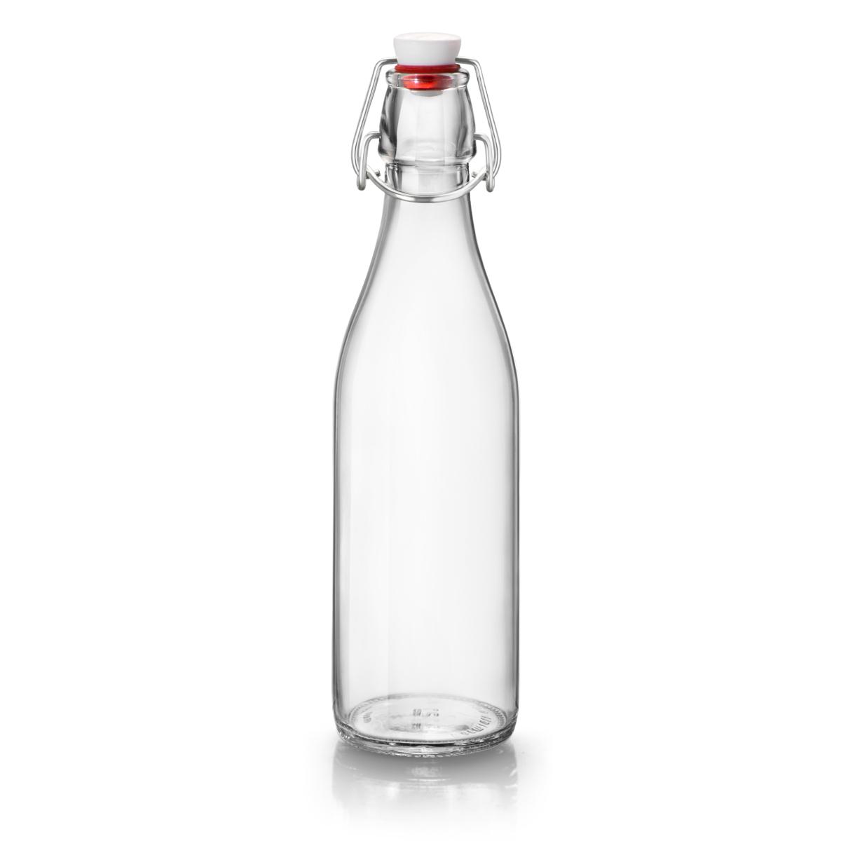 Bormioli Rocco Giara Clear Glass 17 Ounce Bottle
