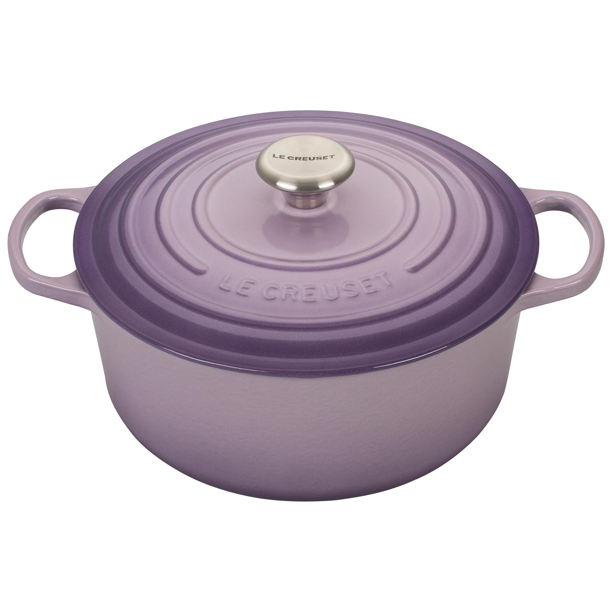 Le Creuset Signature Provence Enameled Cast Iron 5.5 Quart Round Dutch Oven