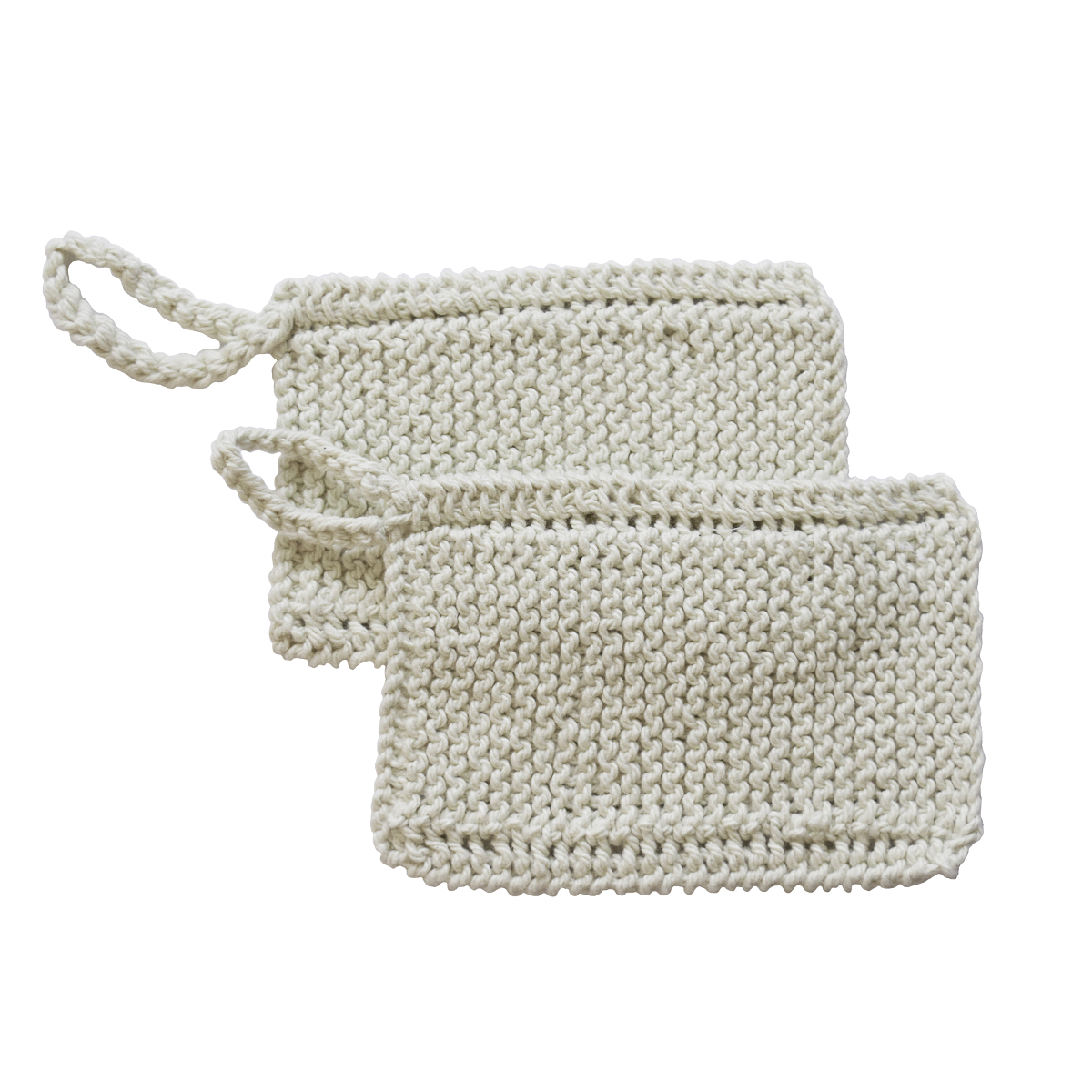 Toockies Organic Cotton Z-Scrub DIsh Scrubber, Set of 2