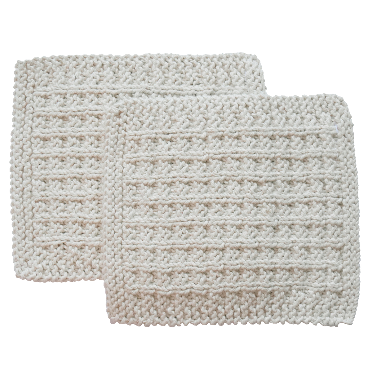 Toockies Organic Cotton His Wash Cloth, Set of 2