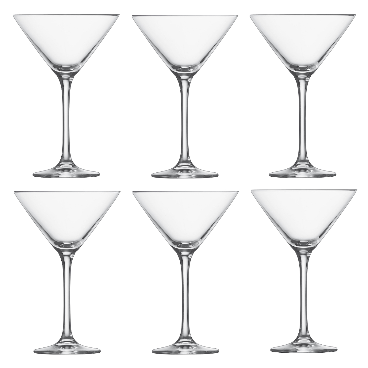 Schott Zwiesel Classico Tritan Crystal 8.5 Ounce Martini Glass, Set of 6