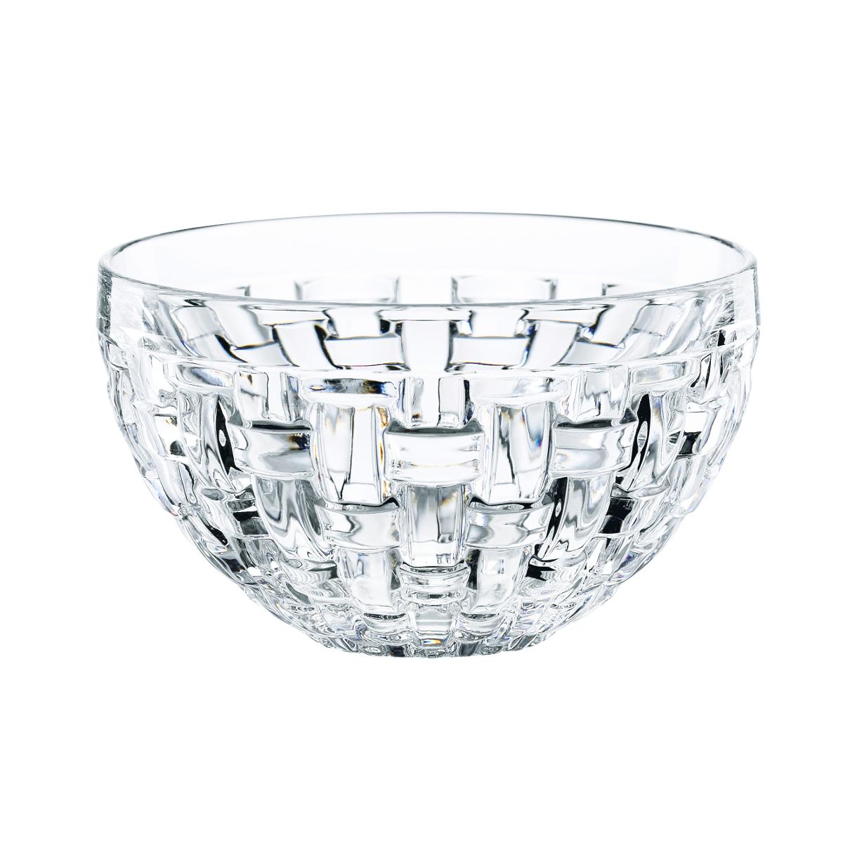 Nachtmann Dancing Stars Bossa Nova Fine Crystal 3.86 Inch Dip Bowl, Set of 4