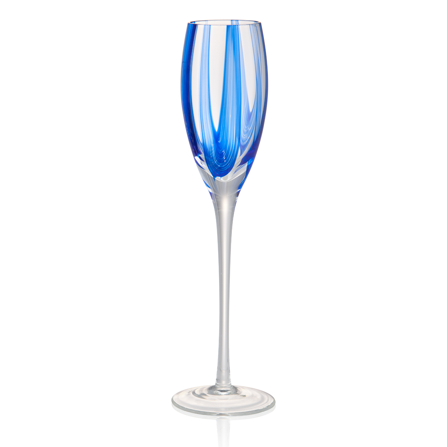 Artland Waterfall Glass 7 Ounce Flute
