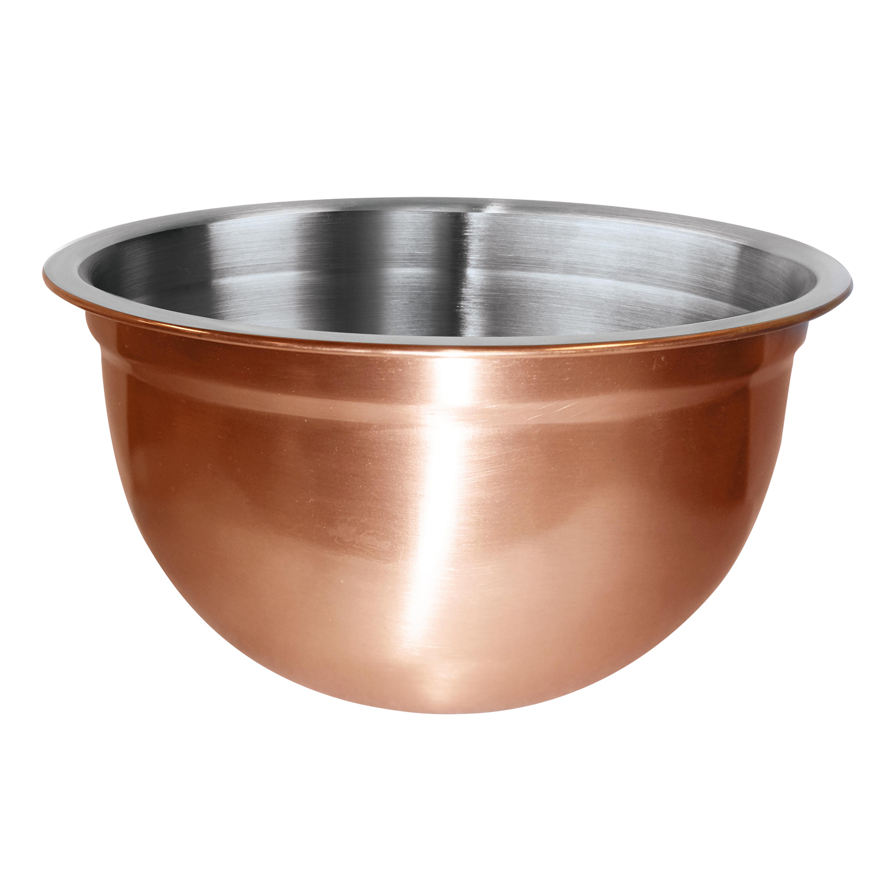 Oggi Copper Plated Stainless Steel 1.5 Quart Mixing Bowl