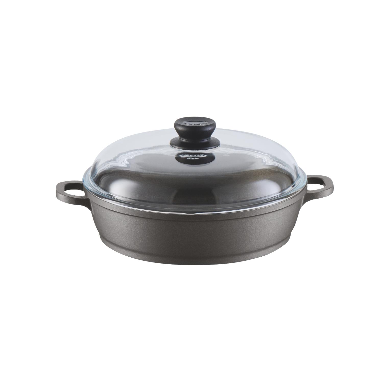Berndes Tradition Induction Covered 4 Quart Sauté Casserole Pan