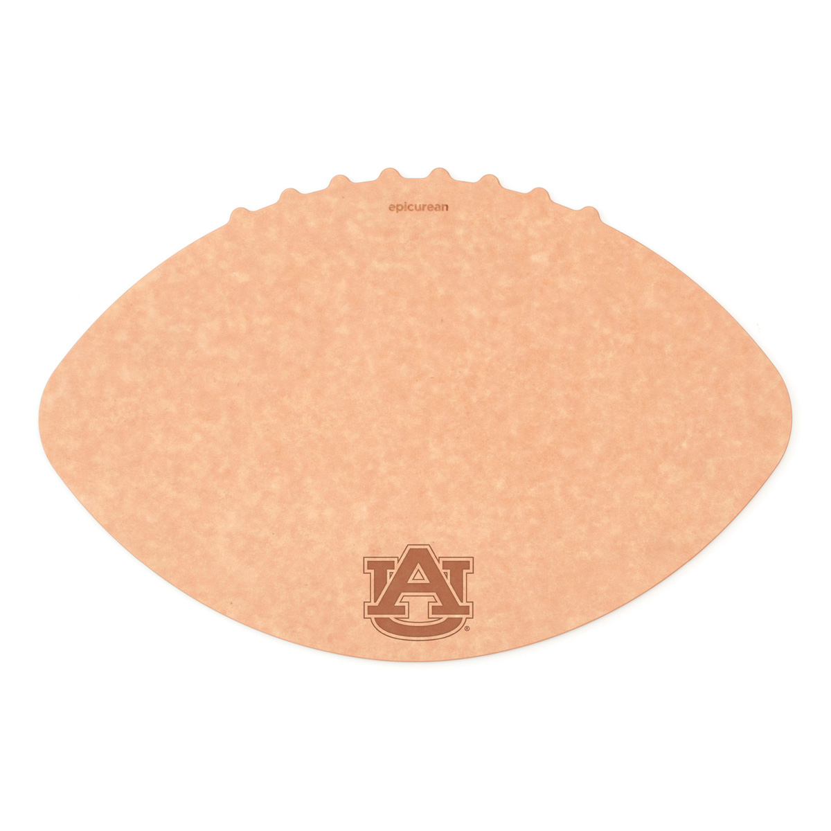 Epicurean Auburn University 16 x 10.5 Inch Football Cutting and Serving Board