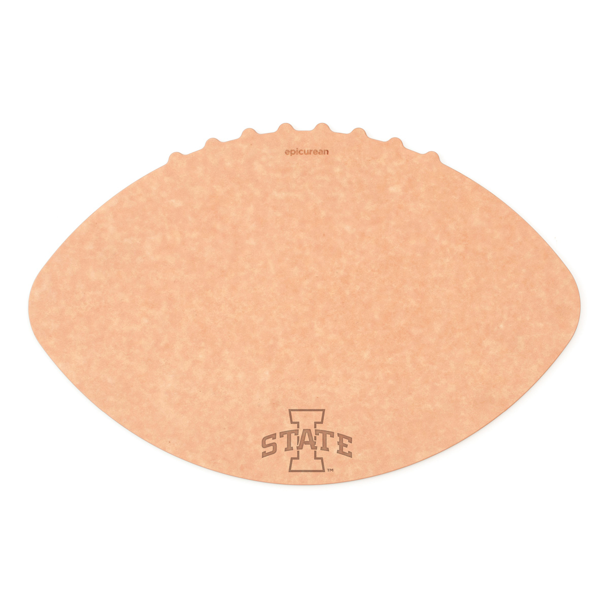 Epicurean Iowa State University 16 x 10.5 Inch Football Cutting and Serving Board