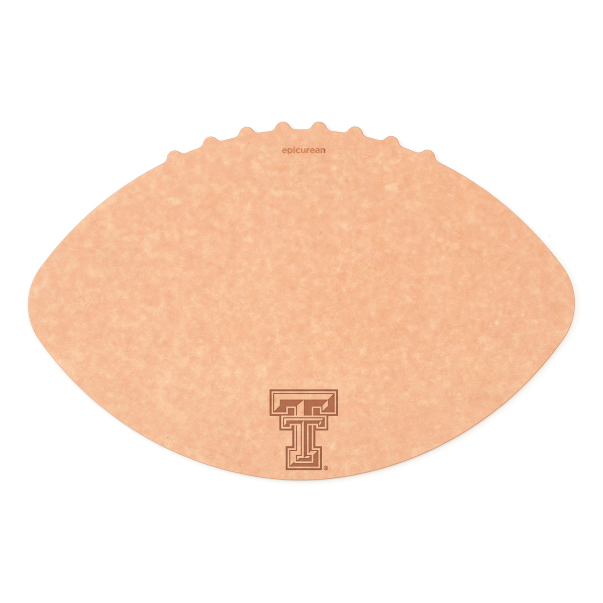 Epicurean Texas Tech University 16 x 10.5 Inch Football Cutting and Serving Board