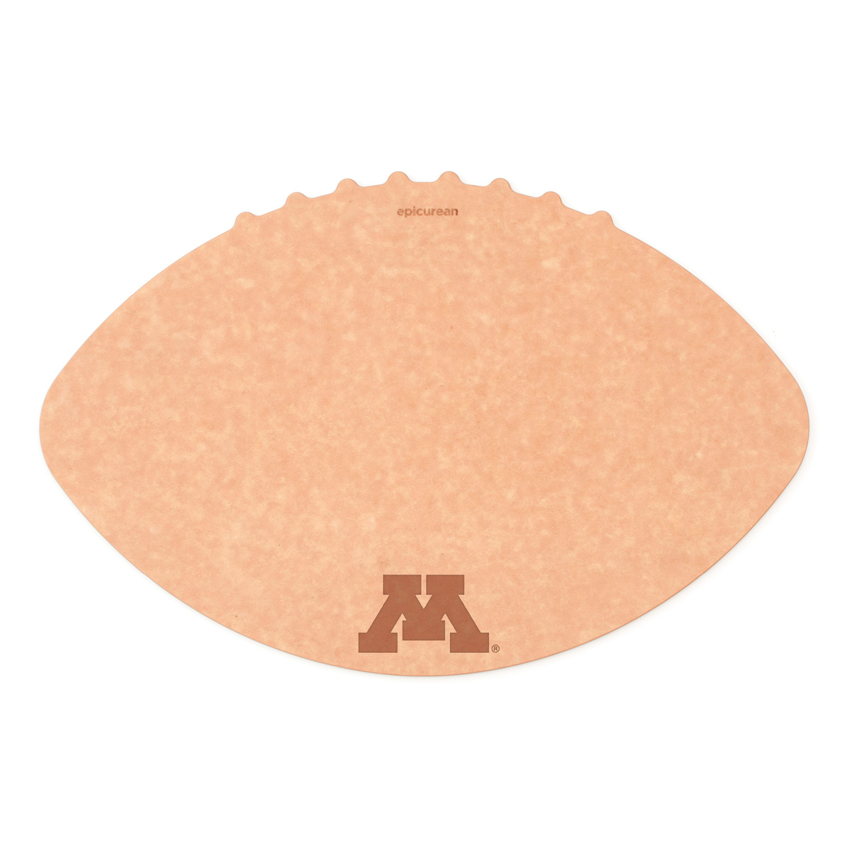 Epicurean University of Minnesota 16 x 10.5 Inch Football Cutting and Serving Board