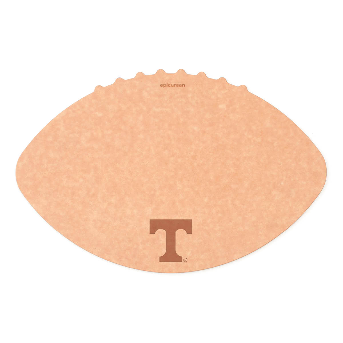 Epicurean University of Tennessee 16 x 10.5 Inch Football Cutting and Serving Board