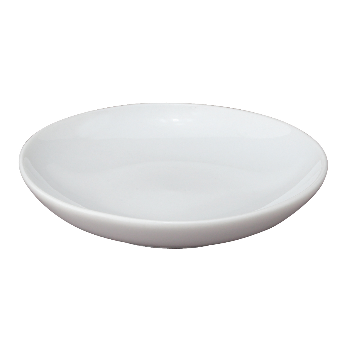 HIC Harold Import Co. White Porcelain 3.5 Inch Round Soy Sauce Dish