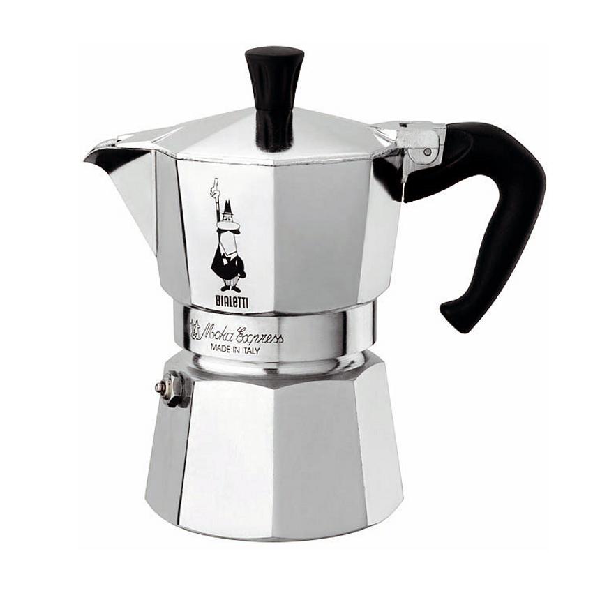 Bialetti Moka Express Aluminum 3 Cup Espresso Maker