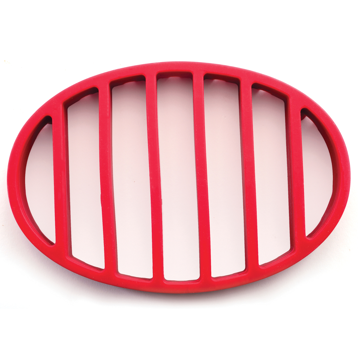 Norpro Red Silicone Oval Roast Rack