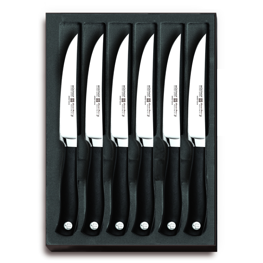 Wusthof Grand Prix II 4.5 Inch Steak Knife, Set of 6