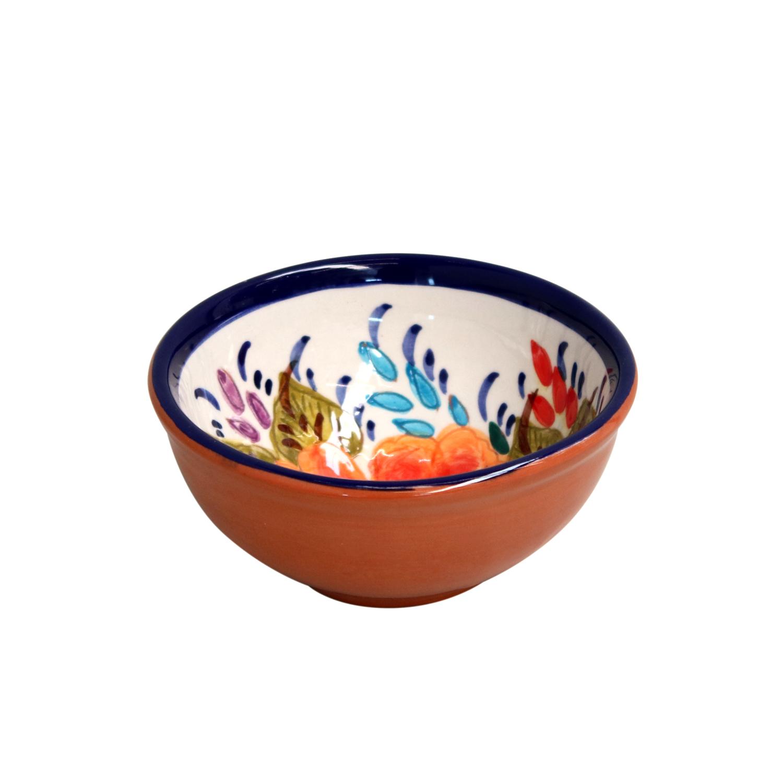 Casafina Alentejo Terracotta Giftware Blossom Dip Bowl