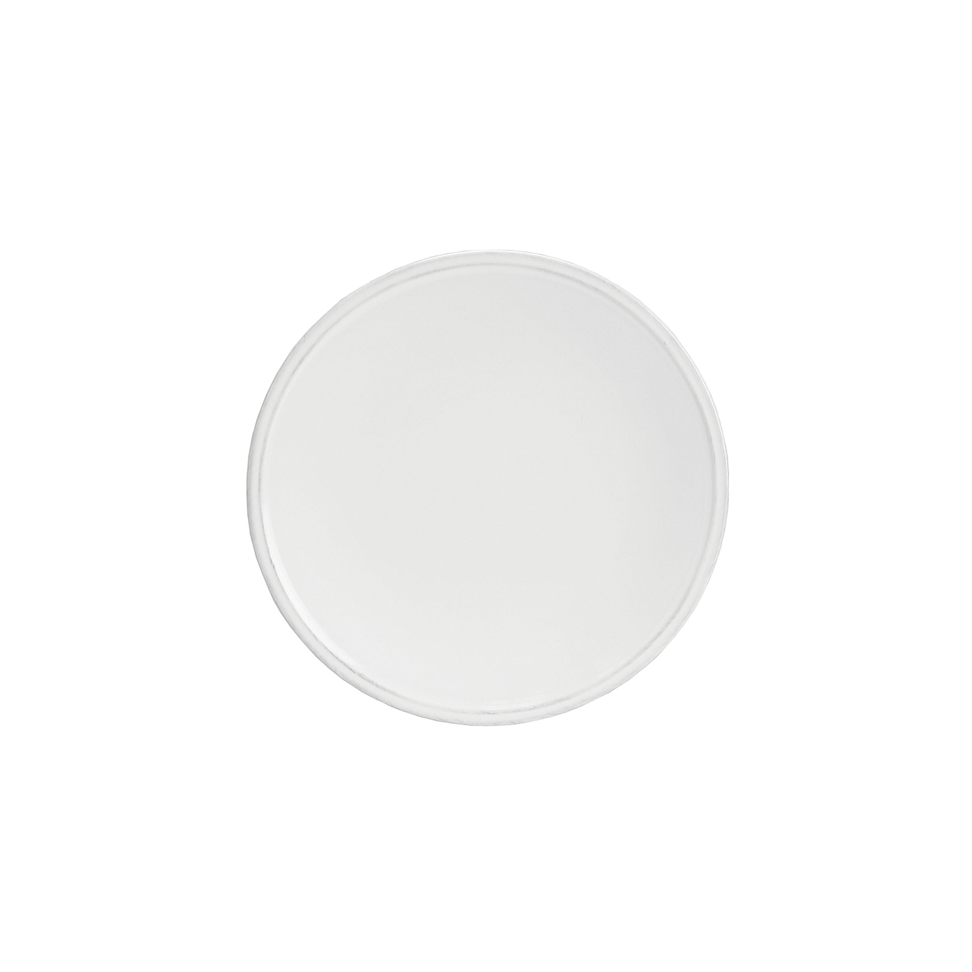 Costa Nova Friso White 8.75 Inch Salad Plate, Set of 6