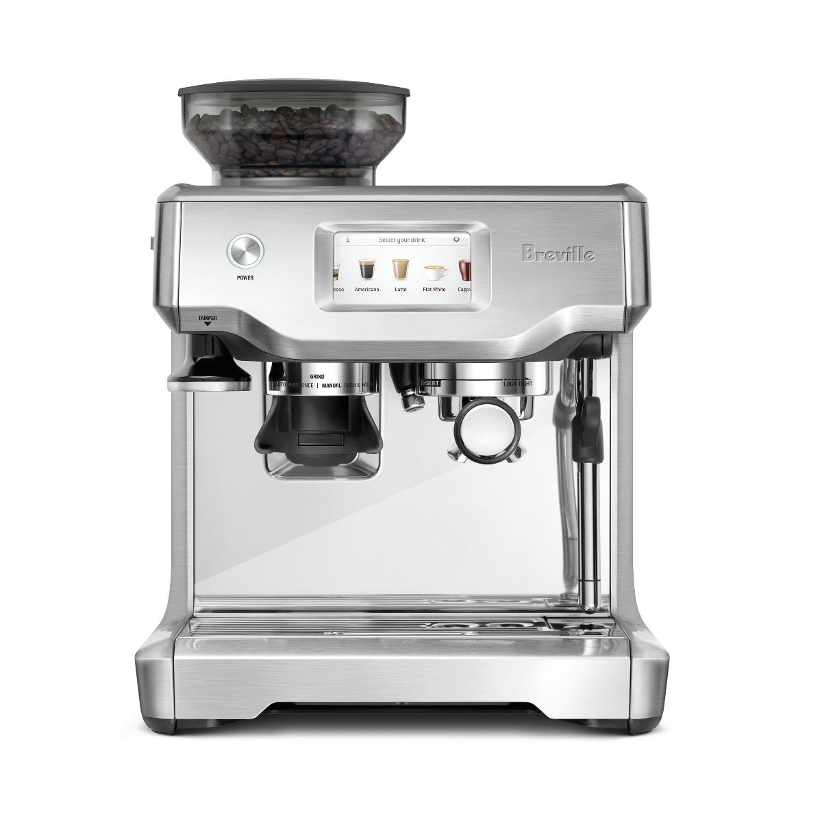 Breville The Barista Touch Espresso Machine with Espresso Glasses