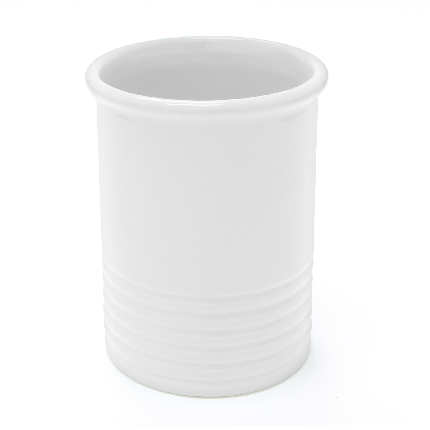 Chantal White Ceramic Medium Utensil Crock