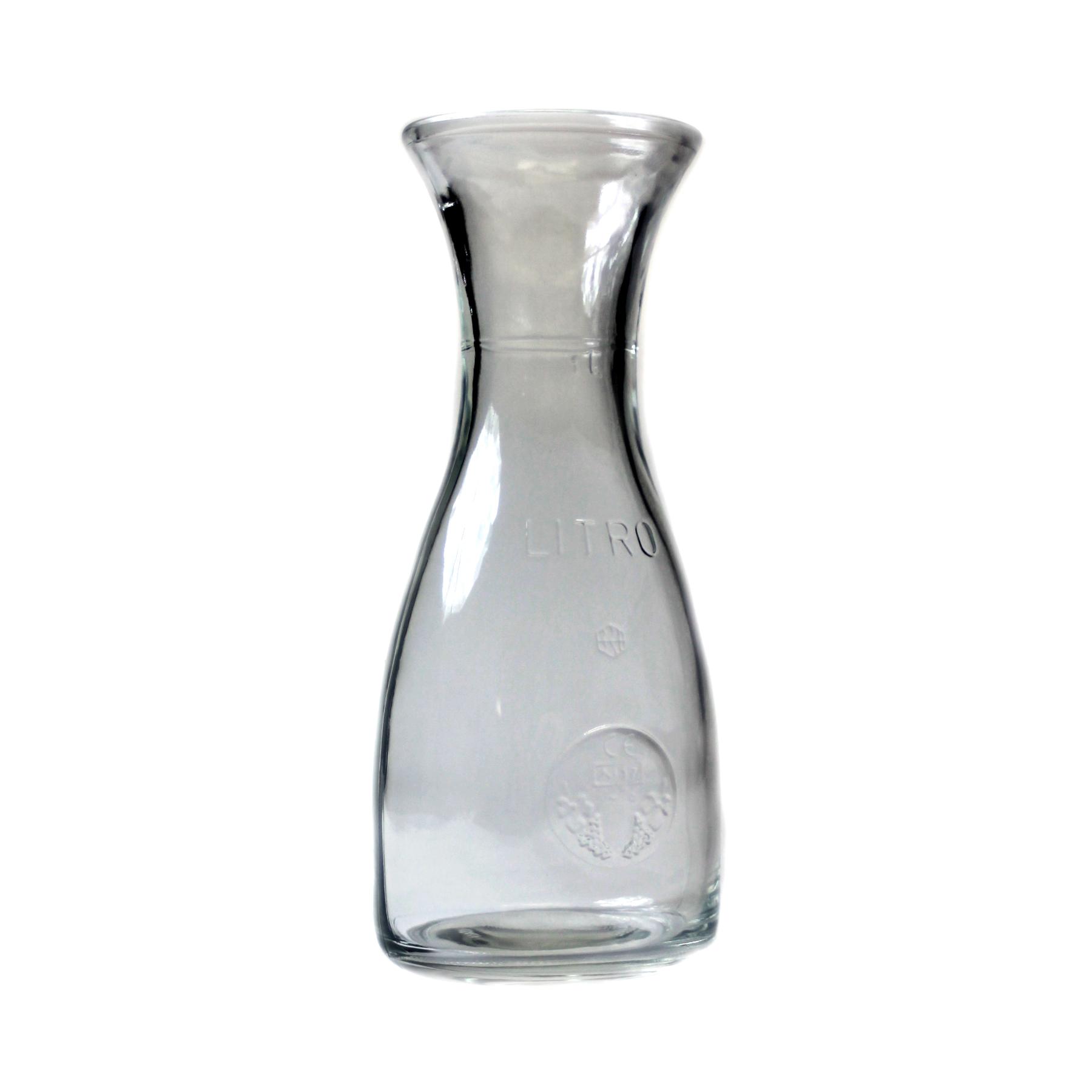 Bormioli Rocco Misura PZ Glass Carafe, 34 Ounce