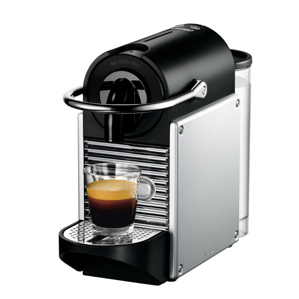 DeLonghi Nespresso Pixie Aluminum Espresso Machine