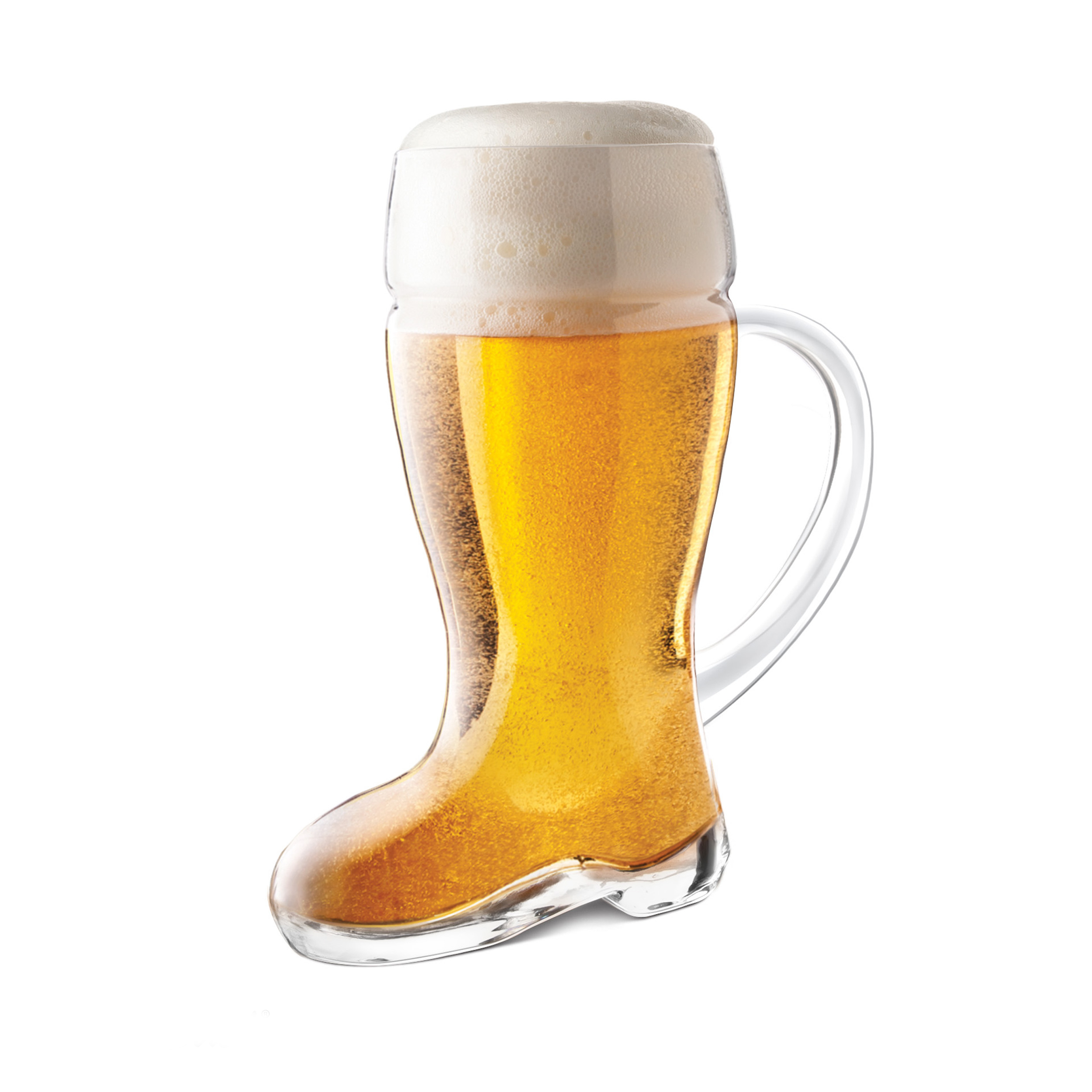 Final Touch Boot 23.6 Ounce Beer Glass