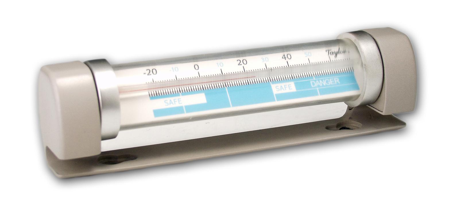 Taylor Refrigerator & Freezer Tilt Tube Thermometer