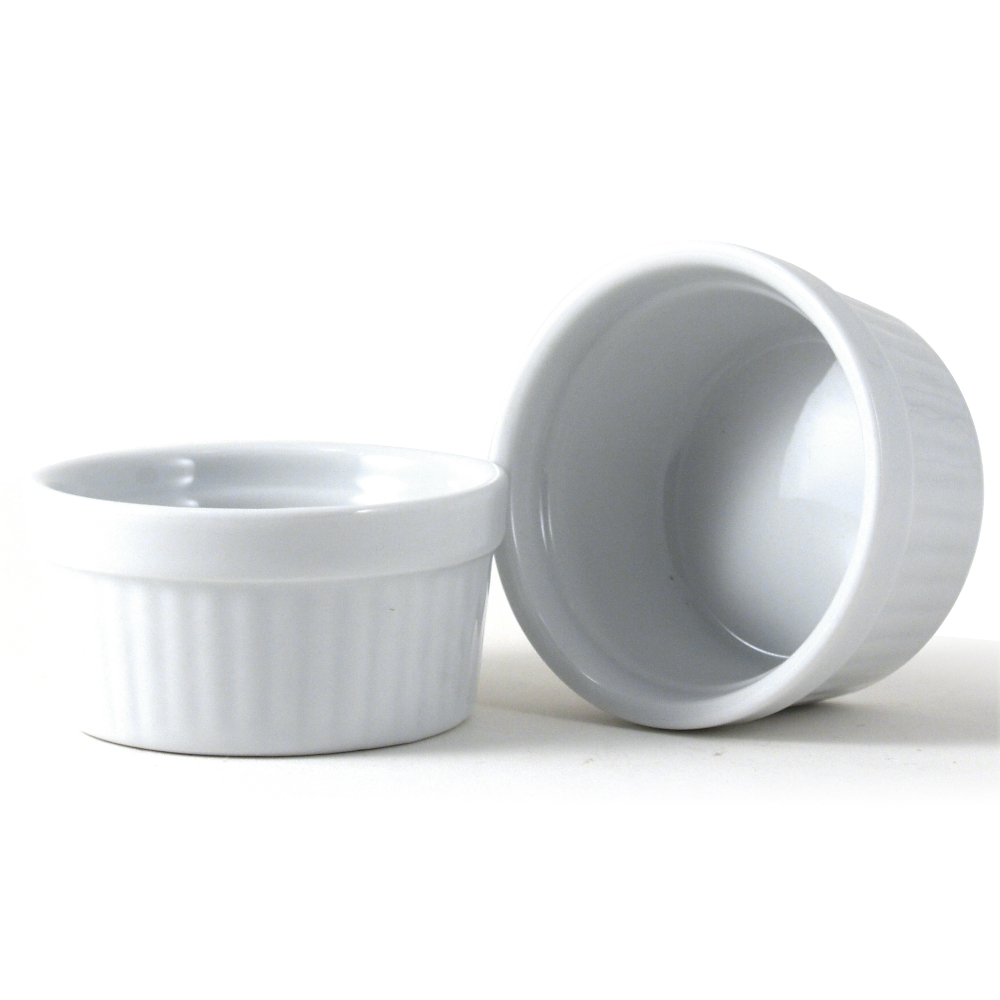 Omniware White Porcelain Ramekin, Set of 2
