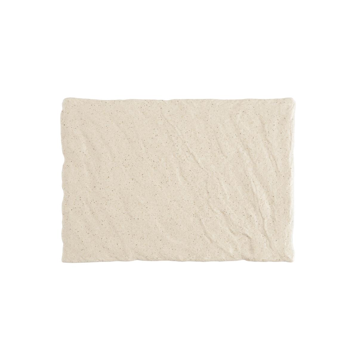 Slayte Fortaluxe Superwhite Sand 2 Piece Rectangular Tray Set