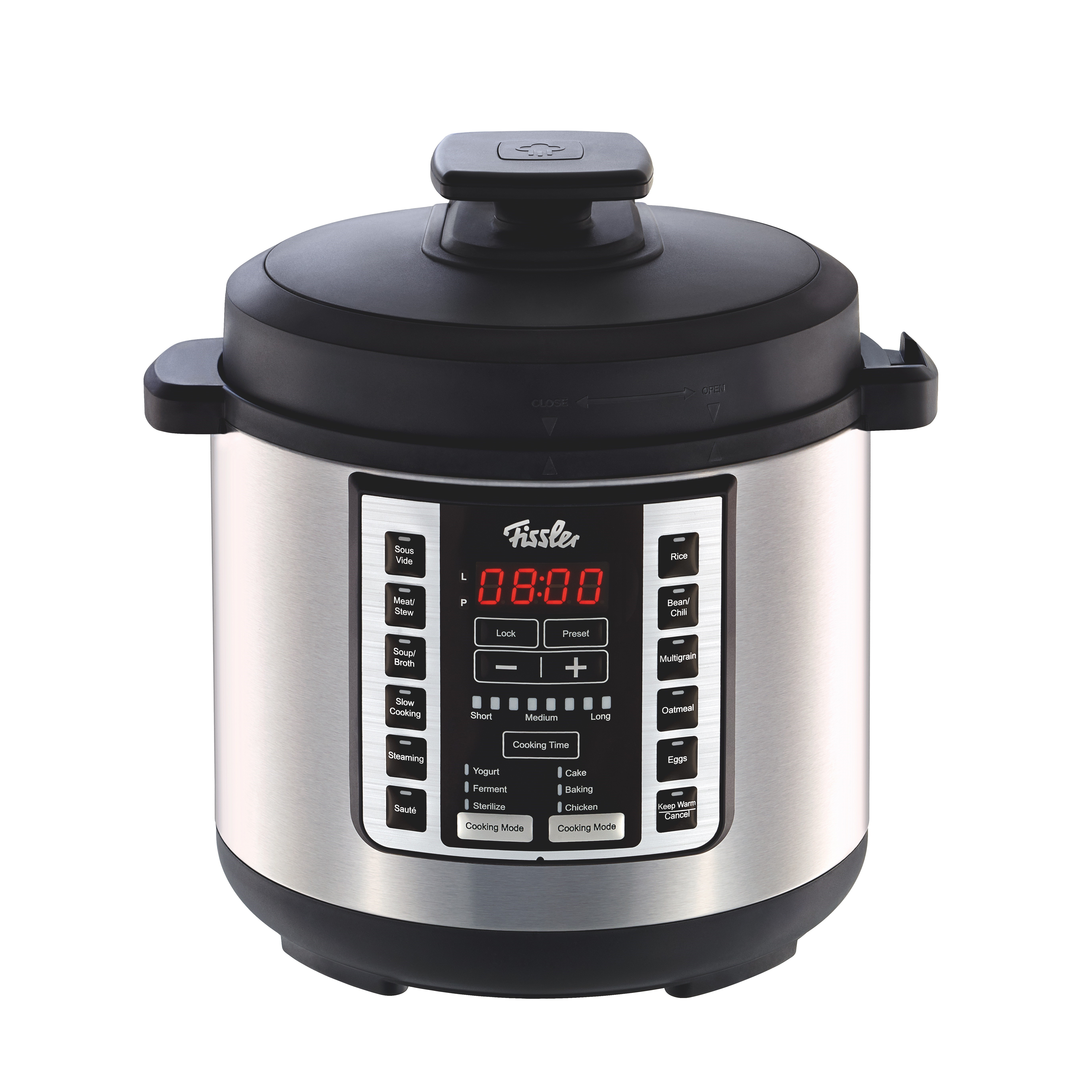 Fissler Stainless Steel Souspreme Electronic Multicooker with 18 Cooking Programs