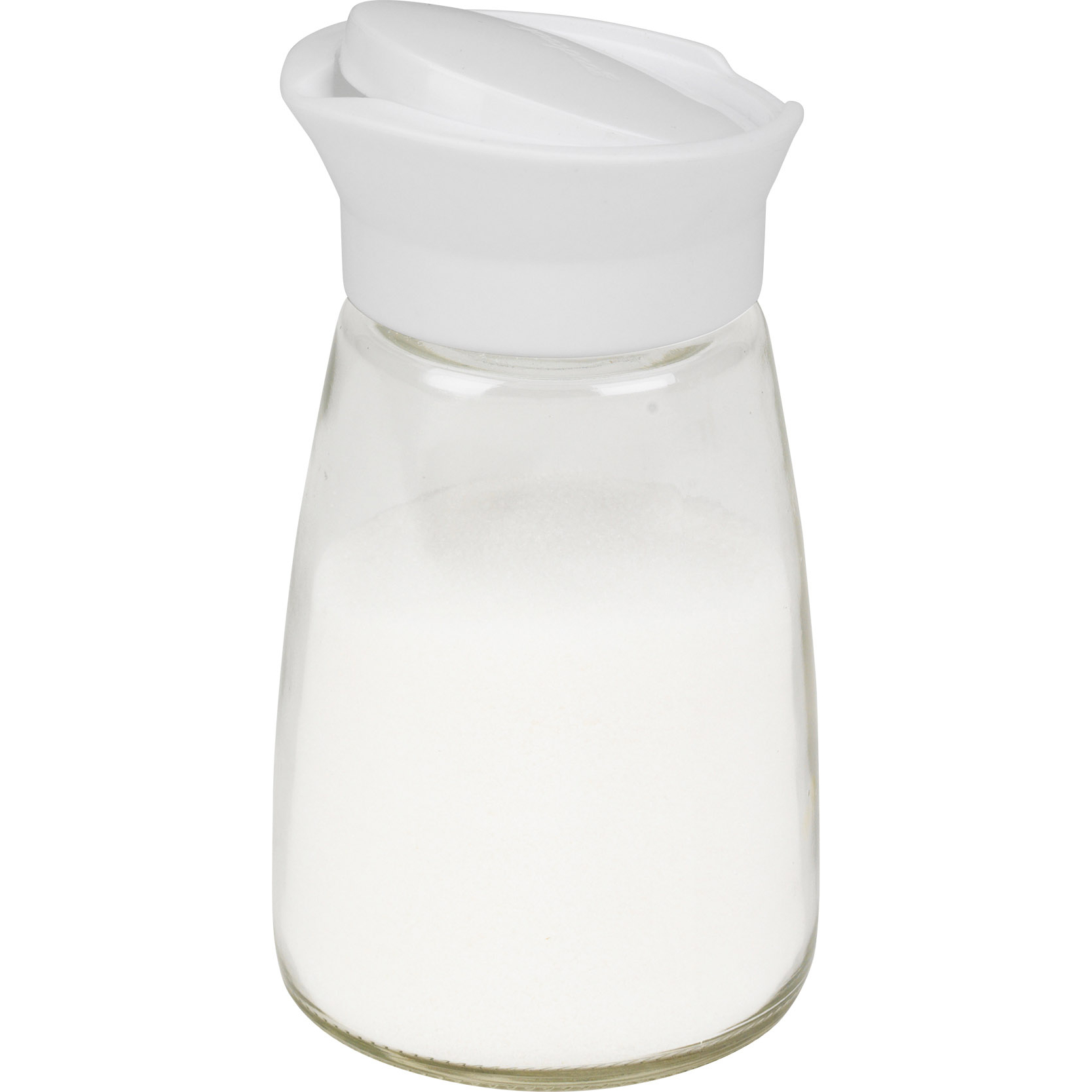 Good Cook Glass 12 Ounce Sugar Pourer with White Lid