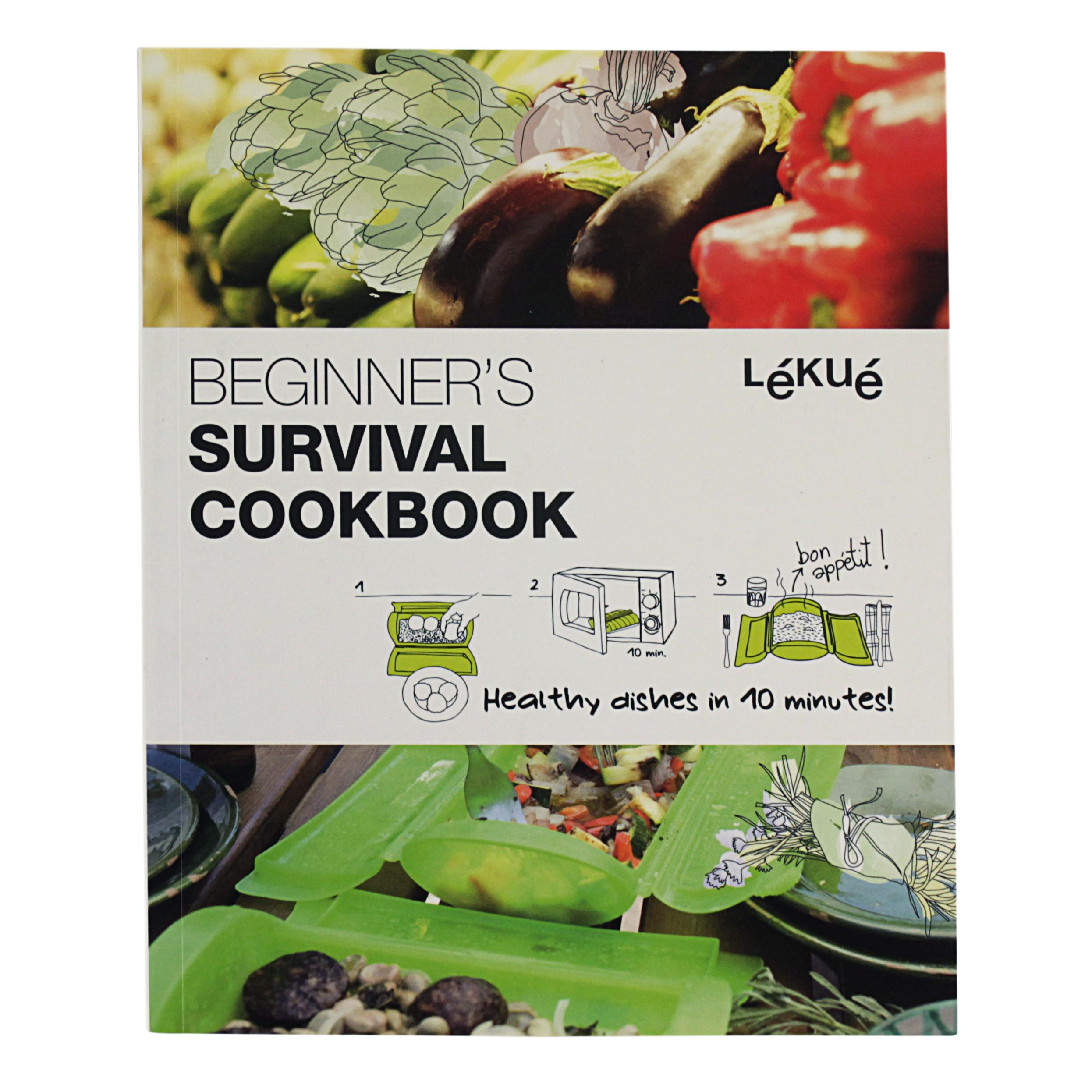 Lekue Beginner's Survival Guide Cookbook