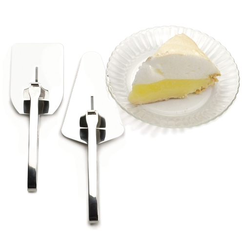 Quick Release Easy Serve Pie Server & Spatula 2pc Set