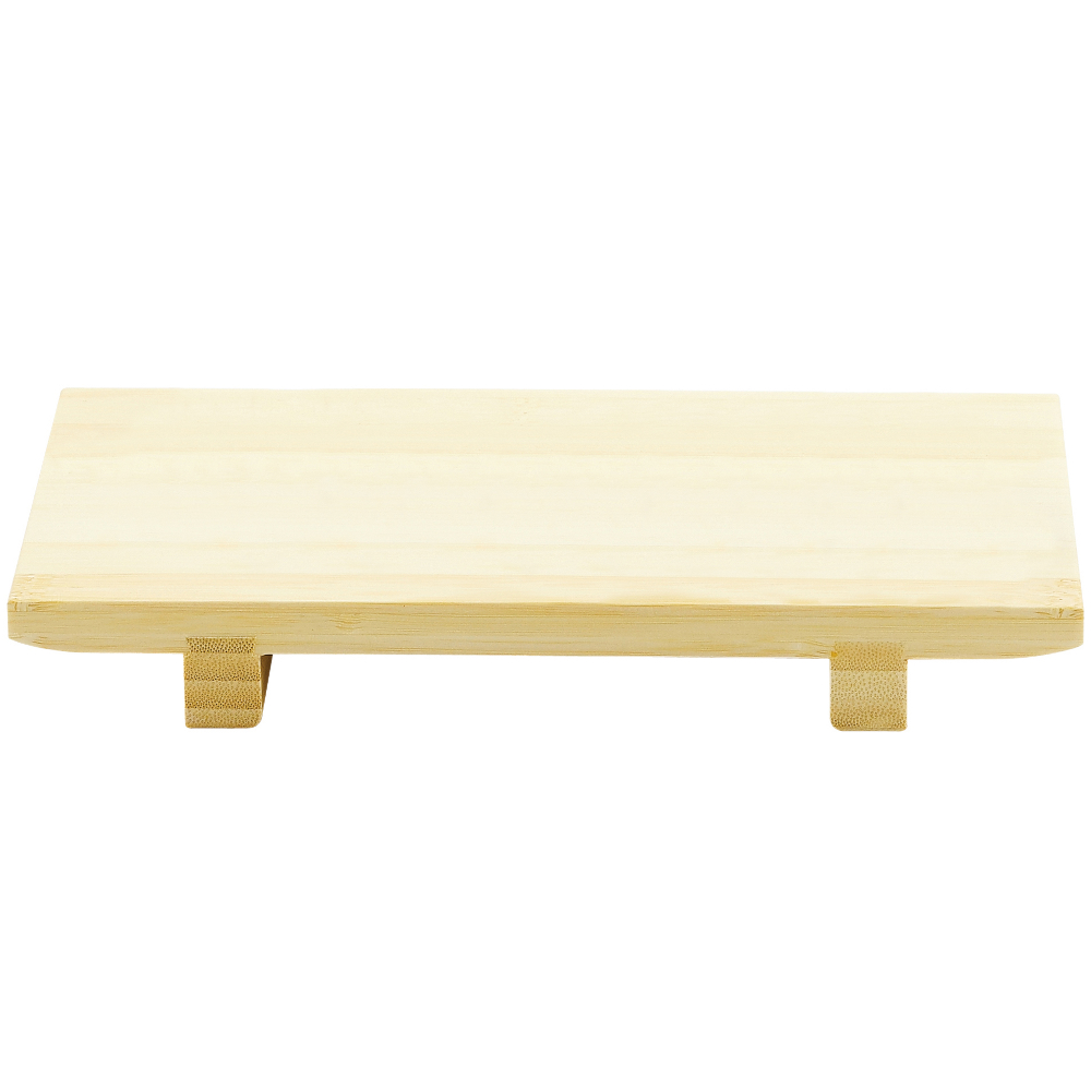 Helen Chen's Asian Kitchen Bamboo Sushi Serving Tray