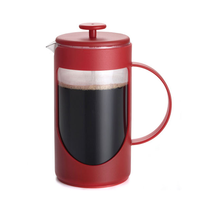 BonJour Ami-Matin Red Flavor Lock French Press, 8 Cup