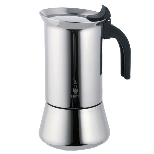 Bialetti Venus Stainless Steel Stovetop Espresso Maker, 4 Cup
