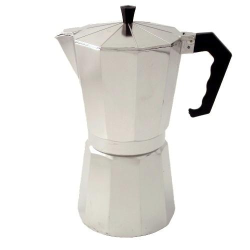 Aluminum Espresso Pot, 9 Cup