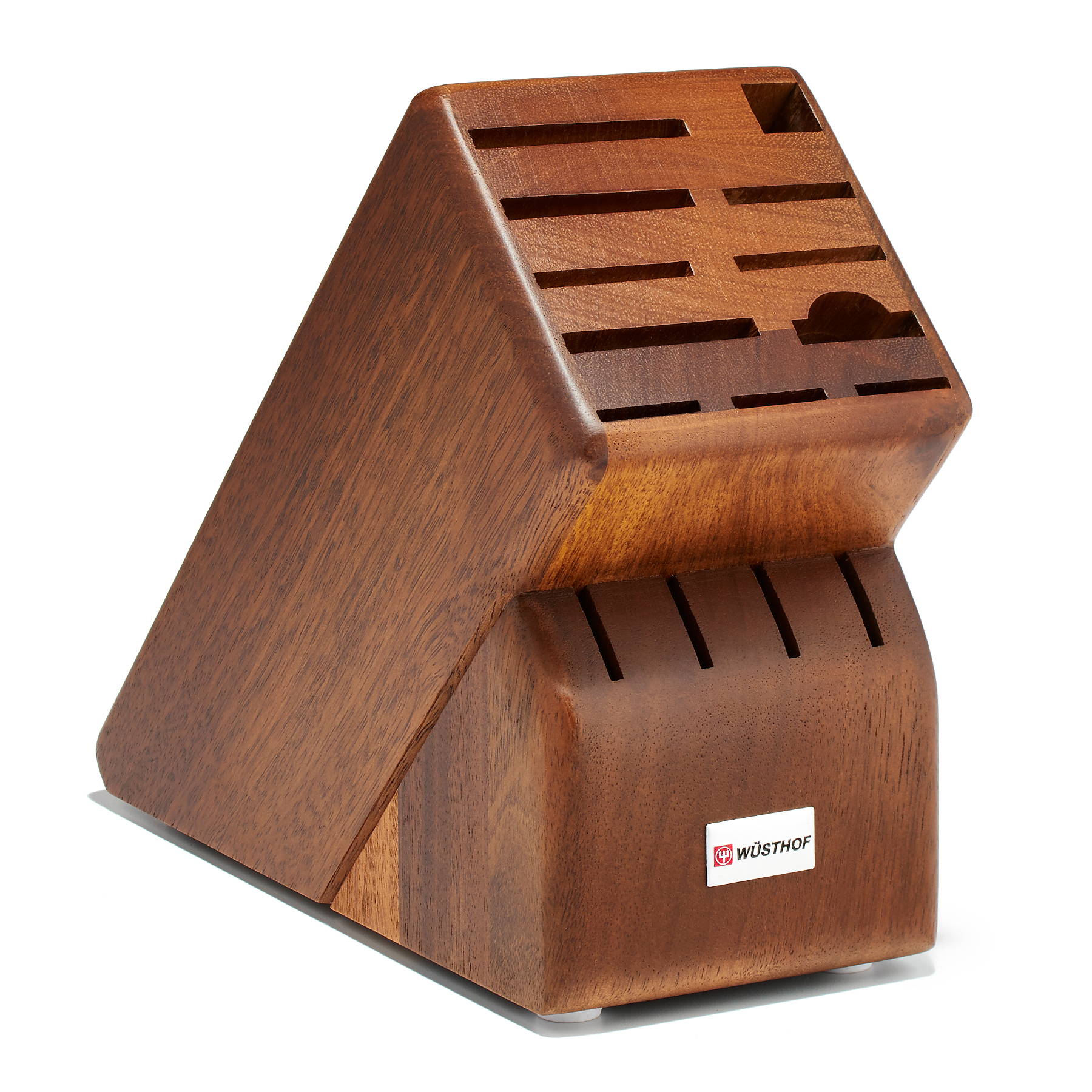 Wusthof 15 Slot Walnut Knife Storage Block