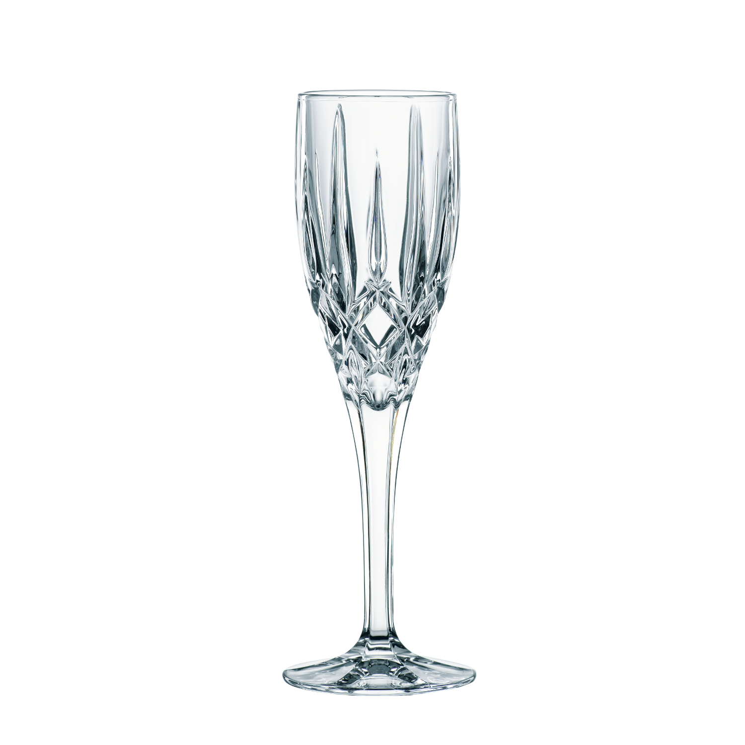 Nachtmann Noblesse Crystal 5.6 Ounce Toasting Flute, Set of 2
