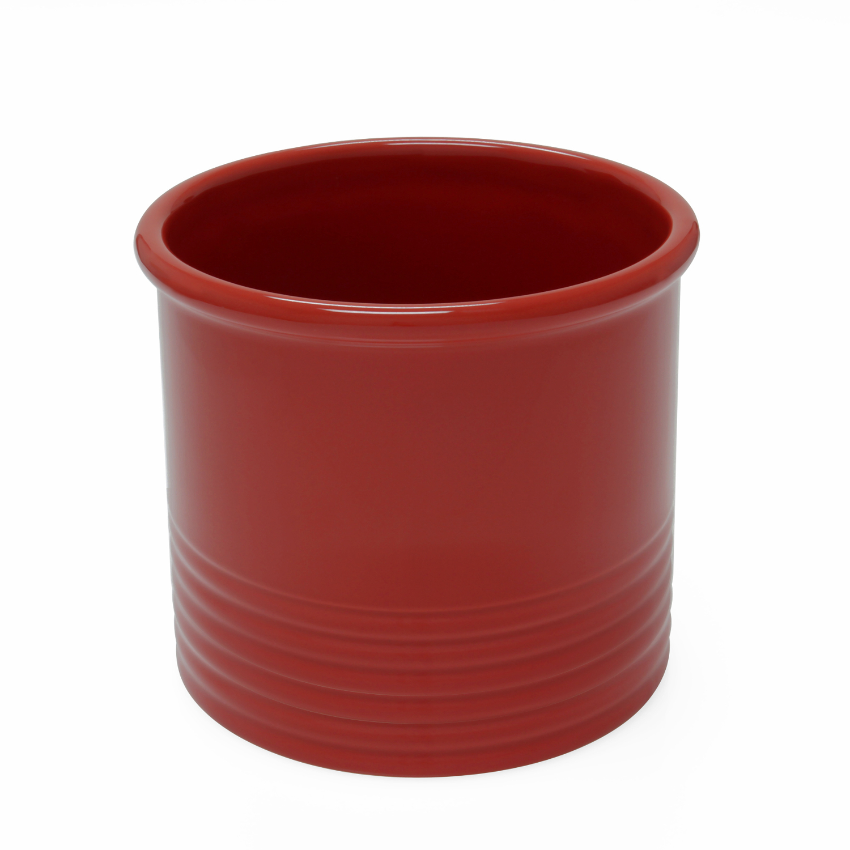 Chantal Cinnabar Ceramic Large Utensil Crock