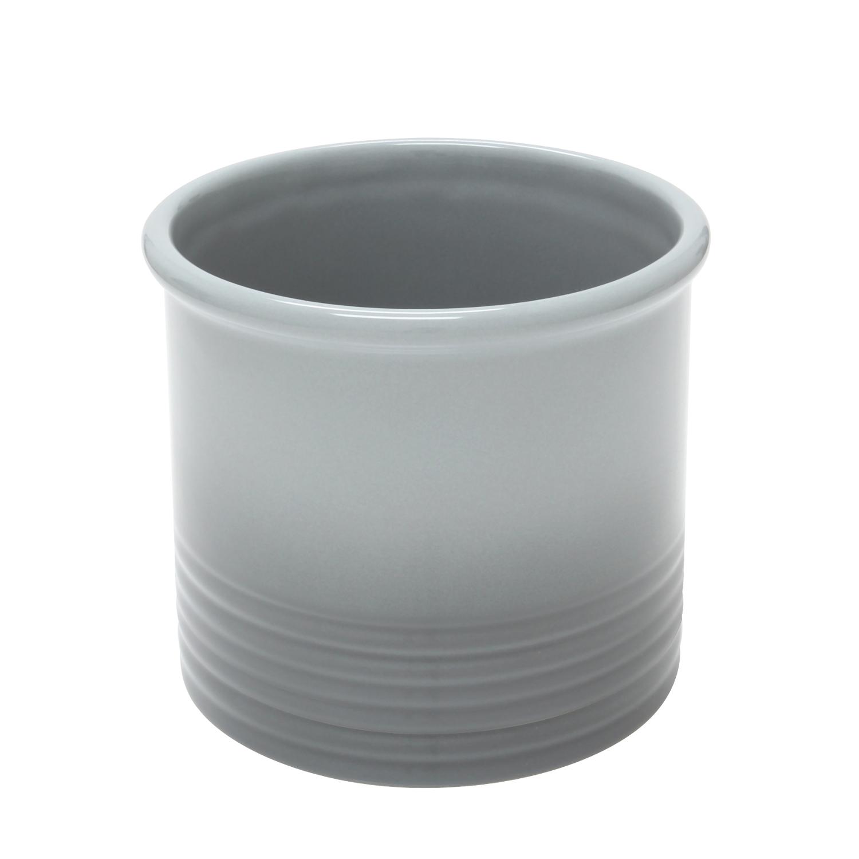 Chantal Fade Grey Ceramic Large Utensil Crock