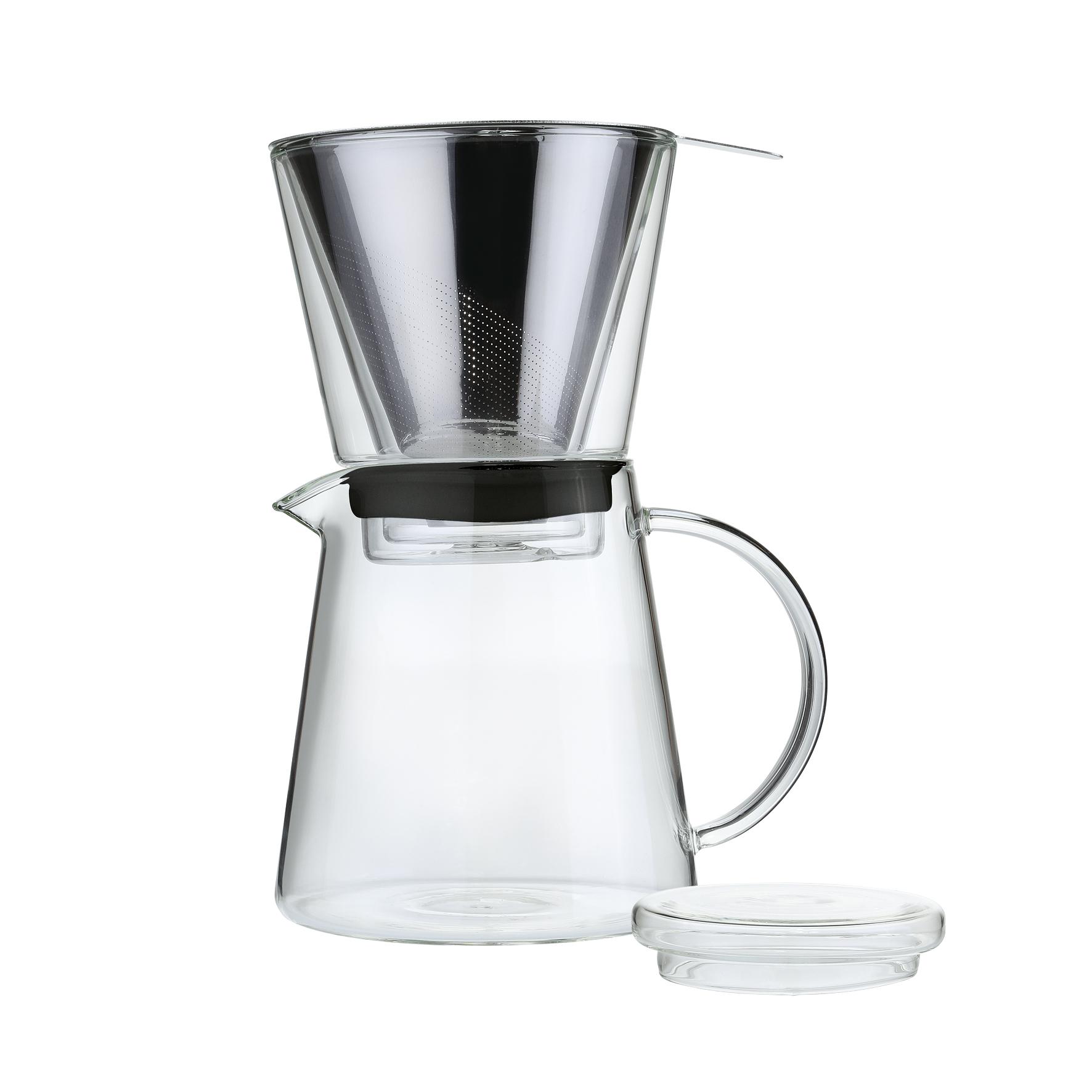 Zassenhaus Borosilicate Glass 25.5 Ounce Pour-Over Brewer