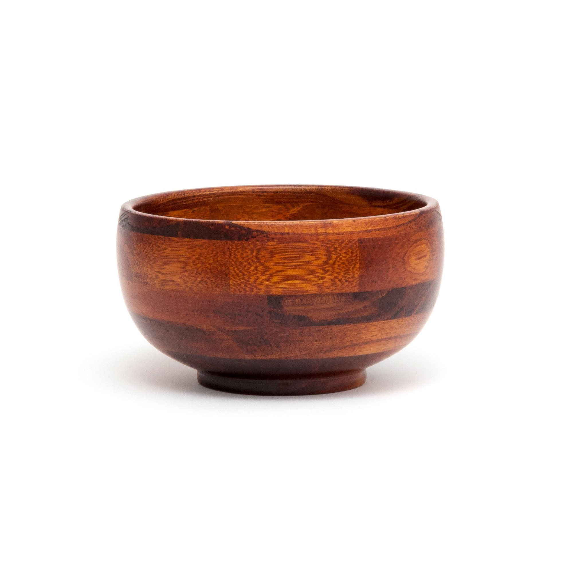Lipper Cherry Finished 6 Inch Rice Bowl, Set of 4