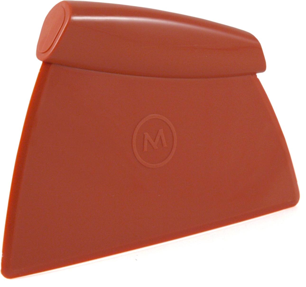 Mario Batali The Italian Kitchen Orange Silicone Dough and Pastry Scraper